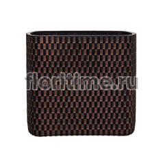 Кашпо Capi nature vase ellips wave ii brown