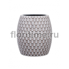Кашпо Capi nature vase elegant wide iii wave ivory