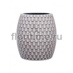 Кашпо Capi nature vase elegant wide ii wave ivory