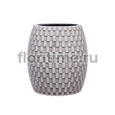 Кашпо Capi nature vase elegant wide i wave ivory