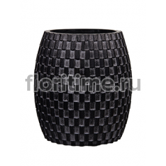 Кашпо Capi nature vase elegant wide i wave black