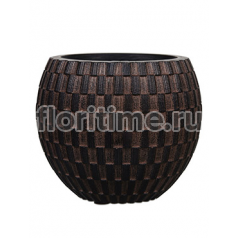 Кашпо Capi nature vase eggplanter ii wave brown