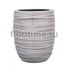 Кашпо Capi nature vase elegant high iii loop ivory