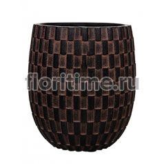 Кашпо Capi nature vase elegant high iii wave brown