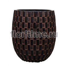 Кашпо Capi nature vase elegant high ii wave brown