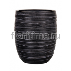 Кашпо Capi nature vase elegant high iii loop black