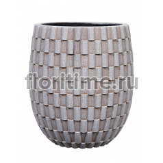 Кашпо Capi nature vase elegant high iii wave ivory