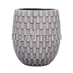 Кашпо Capi nature vase elegant high ii wave ivory