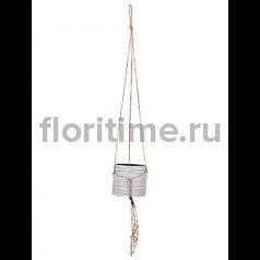 Кашпо Capi nature hanging vase cylinder ii loop ivory