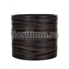 Кашпо Capi nature vase cylinder iii loop brown