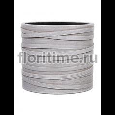 Кашпо Capi nature vase cylinder ii loop ivory