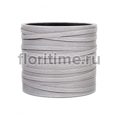 Кашпо Capi nature vase cylinder i loop ivory