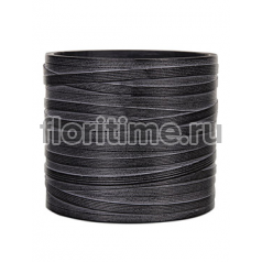 Кашпо Capi nature vase cylinder i loop black