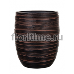 Кашпо Capi nature vase elegant high iii loop brown