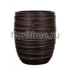 Кашпо Capi nature vase elegant high i loop brown