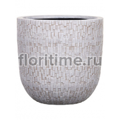 Кашпо Capi nature egg planter stone ii ivory