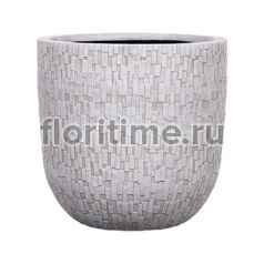 Кашпо Capi nature egg planter stone i ivory