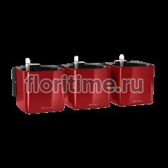 Кашпо Lechuza Green Wall Home Kit, ярко - красный глянец