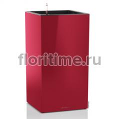 Кашпо Lechuza Canto column, красный