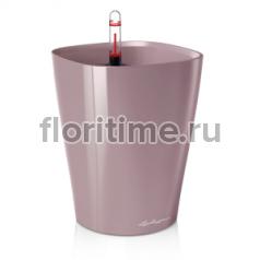 Кашпо Lechuza Deltini, фиолетовое-пастельное глянец