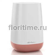 Ваза Yula Lechuza, белый-ярко-розовый