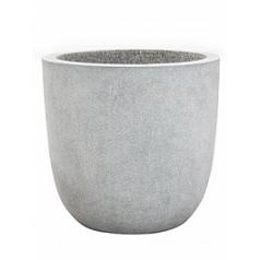Кашпо Capi Lux egg planter 2-й размер светло-серого цвета диаметр - 43 см высота - 41 см