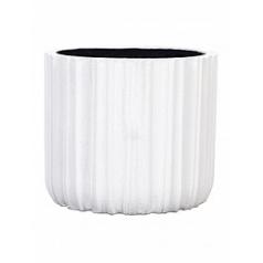 Кашпо Capi Lux egg planter 3-й размер white, белого цвета диаметр - 14 см высота - 13 см