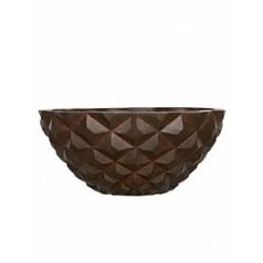 Кашпо Capi Lux heraldry bowl 1-й размер rust диаметр - 34 см высота - 15 см