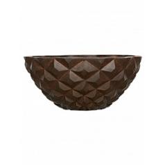 Кашпо Capi Lux heraldry bowl 2-й размер rust диаметр - 44 см высота - 20 см
