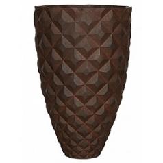 Кашпо Capi Lux heraldry vase elegant 1-й размер rust диаметр - 44 см высота - 69 см