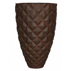 Кашпо Capi Lux heraldry vase elegant 2-й размер rust диаметр - 59 см высота - 87 см