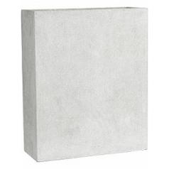 Кашпо Capi Lux planter envelope 2-й размер светло-серого цвета длина - 87.5 см высота - 99 см