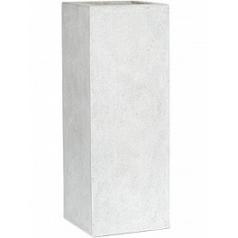 Кашпо Capi Lux planter rectangle 1-й размер светло-серого цвета длина - 25 см высота - 67 см