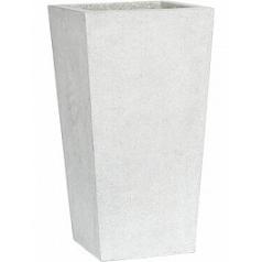 Кашпо Capi Lux planter taper 3-й размер светло-серого цвета длина - 41 см высота - 90.3 см