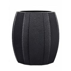 Кашпо Capi Lux vase elegant wide arc 1-й размер anthracite, цвет антрацит диаметр - 10 см высота - 11 см