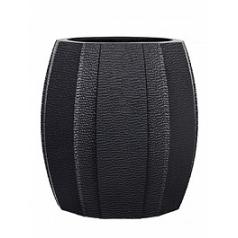 Кашпо Capi Lux vase elegant wide arc 1-й размер anthracite, цвет антрацит диаметр - 12 см высота - 14 см
