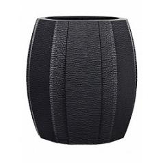 Кашпо Capi Lux vase elegant wide arc 1-й размер anthracite, цвет антрацит диаметр - 15 см высота - 20 см