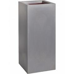 Кашпо Capi Urban smooth nl planter rectangle grey, серого цвета длина - 36 см высота - 79 см