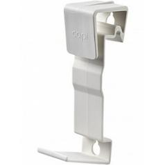 Кронштейн Capi Wall (Нидерланды) grip medium white, белого цвета (set a 2 pcs.) длина - 3.5 см высота - 16 см