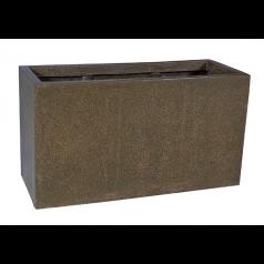 Кашпо Capi Lux Дивайдер средний, коричневый