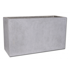 Кашпо Capi Lux Дивайдер средний, светло-серый