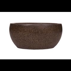 Кашпо Capi Lux Чаша, коричневый