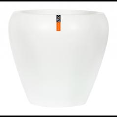 Кашпо Capi Lux Коническая ваза, белый