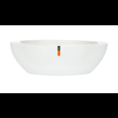 Кашпо Capi Lux Низкая чаша, белый