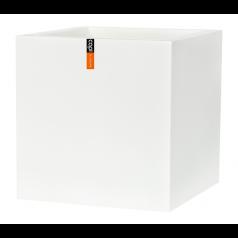 Кашпо Capi Lux Куб, белый