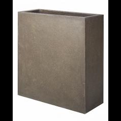 Кашпо Capi Lux Дивайдер высокое, коричневый