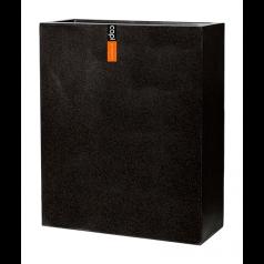 Кашпо Capi Lux Дивайдер высокое, чёрный