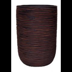 Кашпо Nature Цилиндр, коричневый