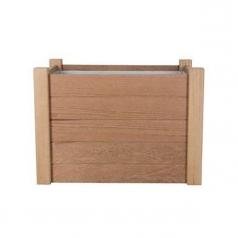Кашпо Outdoor Wood, сталь