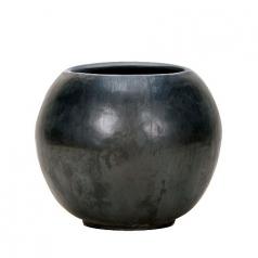 Кашпо Globe, керамика, антрацит